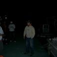 25 暗闇の中で、井村船長